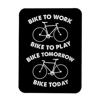 Bike Forever - Cool Cycling Magnet