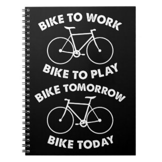 Bike Forever - Cool Cycling Notebook