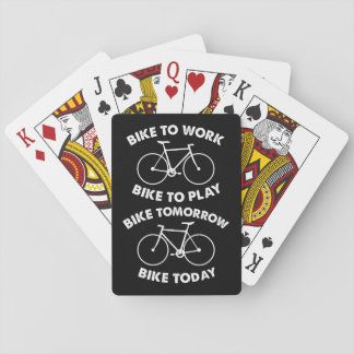 Bike Forever - Cool Cycling Playing Cards