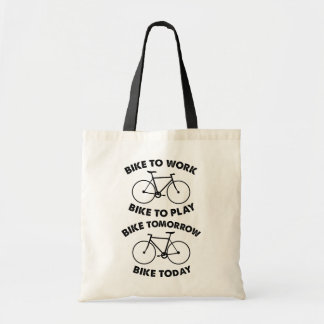 Bike Forever - Cool Cycling Tote Bag