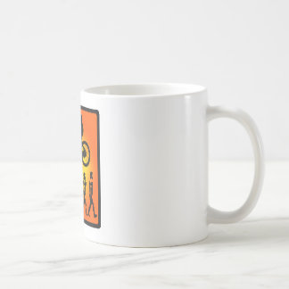 Bike Gone GoGO Classic White Coffee Mug