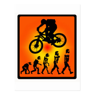 Bike Gone GoGO Postcard