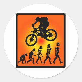 Bike Gone GoGO Round Sticker
