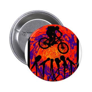 Bike Hidden Trail Pinback Buttons