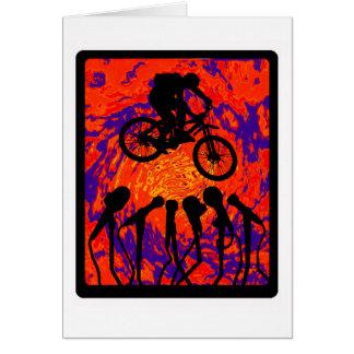 Bike Hidden Trail Greeting Card