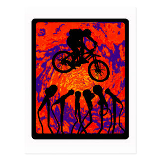 Bike Hidden Trail Postcard