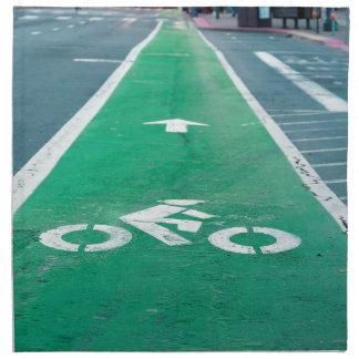 BIKE LANE NAPKIN