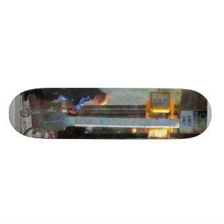 Bike Lane Skateboard Deck