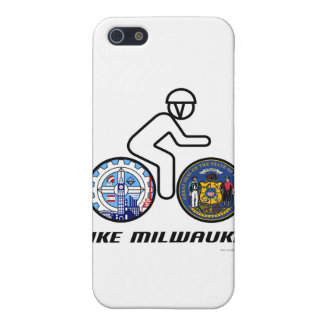 Bike Milwaukee iPhone 5/5S Cases