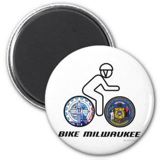 Bike Milwaukee Magnet