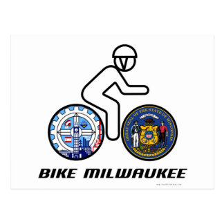 Bike Milwaukee Postcard