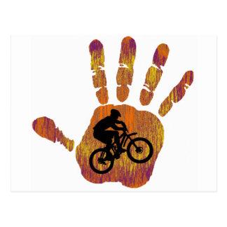 Bike Mojave Style Postcard