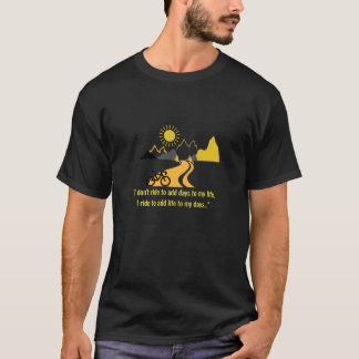 Bike & Mountains Men's T-Shirt