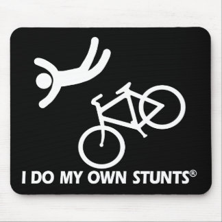 Bike My Own Stunts Mouse Pad