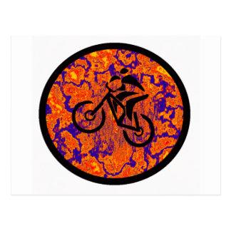 Bike New Cranks Postcard