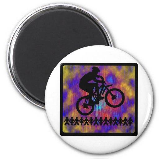 Bike New Diggs Magnet