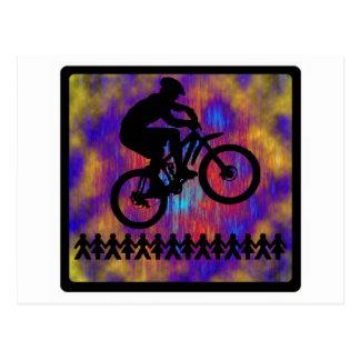 Bike New Diggs Postcard
