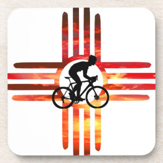 Bike New Mexico Drink Coasters