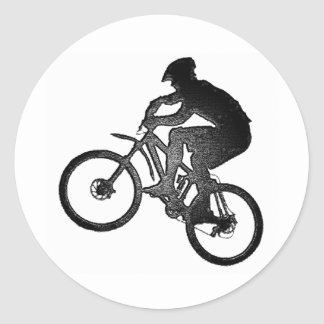 Bike New Offer Classic Round Sticker