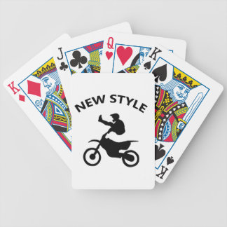 Bike new style bicycle playing cards