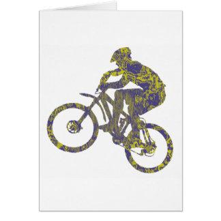 Bike New Territory Greeting Card