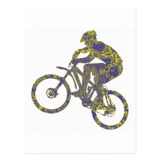 Bike New Territory Postcard