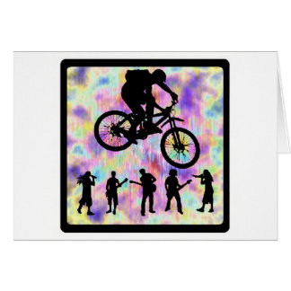 Bike NEXT MOVE Greeting Card