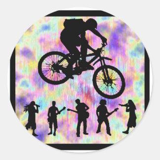 Bike NEXT MOVE Round Sticker