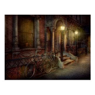 Bike - NY - Greenwich Village - In the village Postcard
