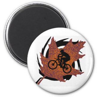 Bike Oak Flavored 2 Inch Round Magnet
