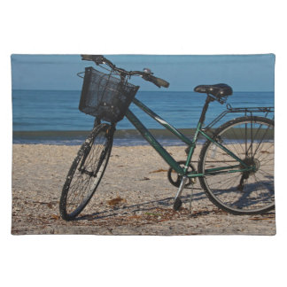Bike on Barefoot Beach II Placemat