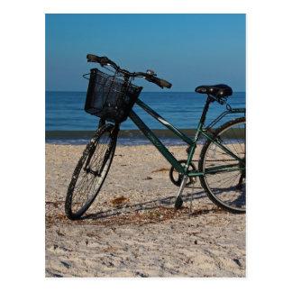 Bike on Barefoot Beach II Postcard