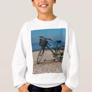 Bike on Barefoot Beach II Sweatshirt