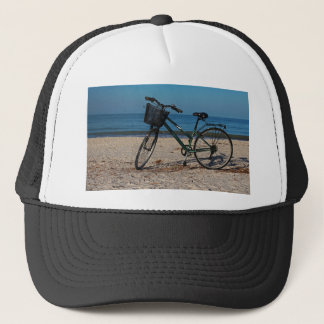 Bike on Barefoot Beach II Trucker Hat