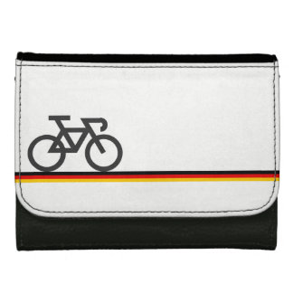 Bike on German-inspired Flag Lines Wallets