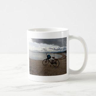 Bike on the Beach Coffee Mug