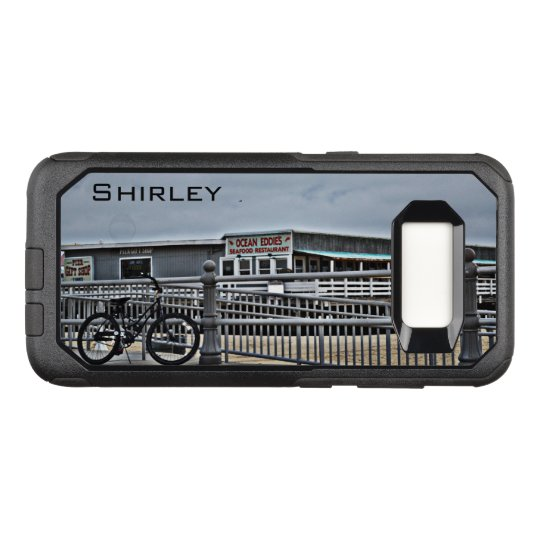 Bike on the Boardwalk by Shirley Taylor OtterBox Commuter Samsung Galaxy S8 Case