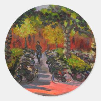 Bike Park Round Sticker