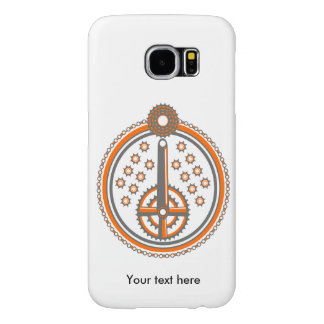 Bike Parts Roundel Pattern Samsung Galaxy S6 Cases