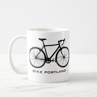 Bike Portland Mug - Single Speed