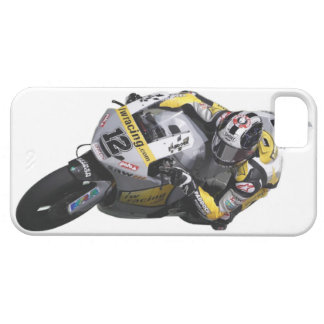 Bike race heroes in action - 'TOM LUTHI' iPhone 5 Case