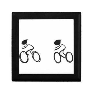 Bike race keepsake boxes