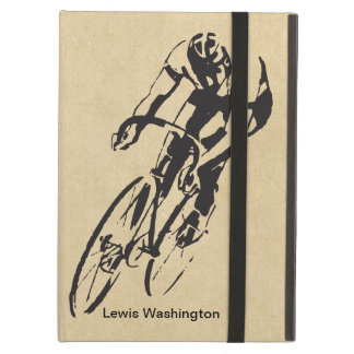 Bike Racing Velodrome Personalized Case For iPad Air