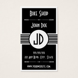 Bike Repair Shop Business Card