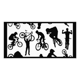 bike-riders photo cards