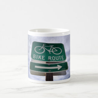 Bike Route Mug