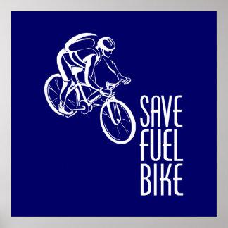 Bike, Save Fuel Poster