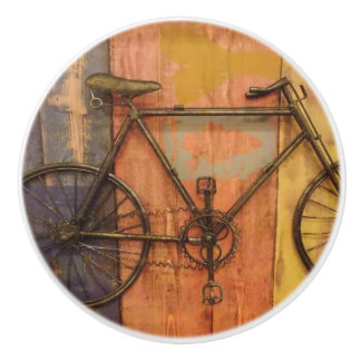 Bike Shop Boys Room Ceramic Knob