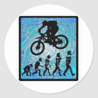 Bike STEEP TREND Classic Round Sticker