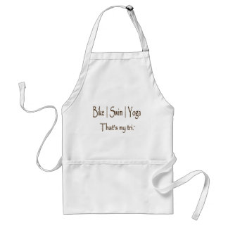 Bike | Swim | Yoga Standard Apron